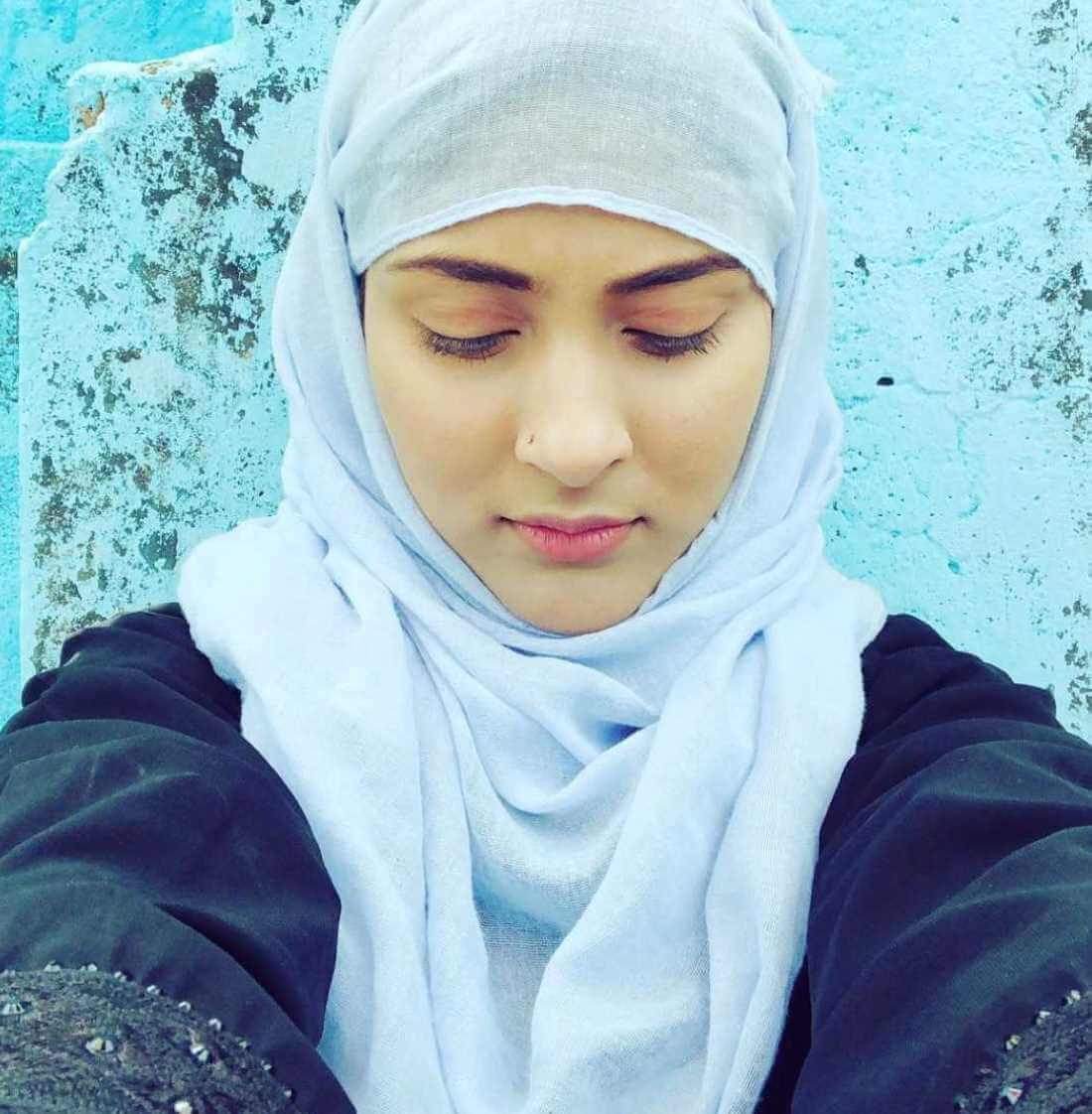 Mehazabien Chowdhury Hijab Selfie