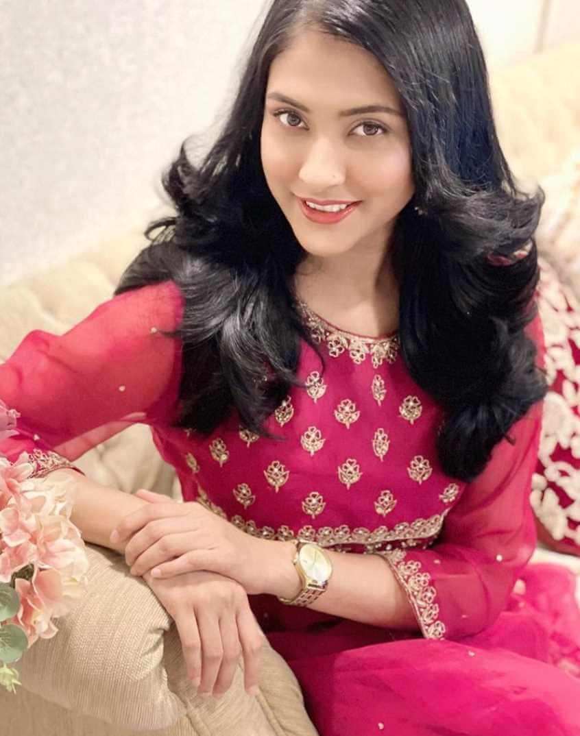 Mehazabien Chowdhury Pink Color Dress Pic
