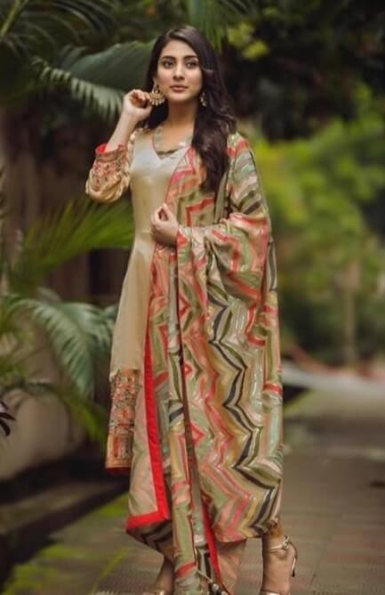 Mehazabien Chowdhury Salwar Kameez Style New Photo 2021