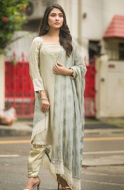 Mehazabien Chowdhury Salwar Kameez Style Photo 2021