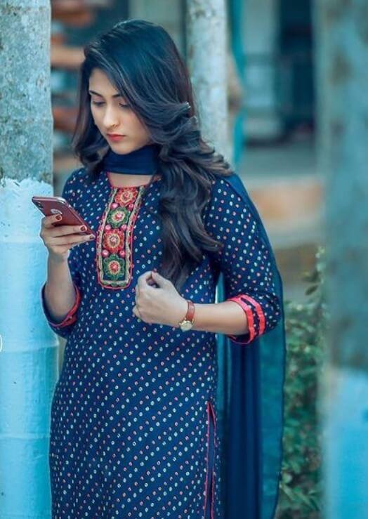 Mehazabien Chowdhury Salwar Kameez Styles Picture