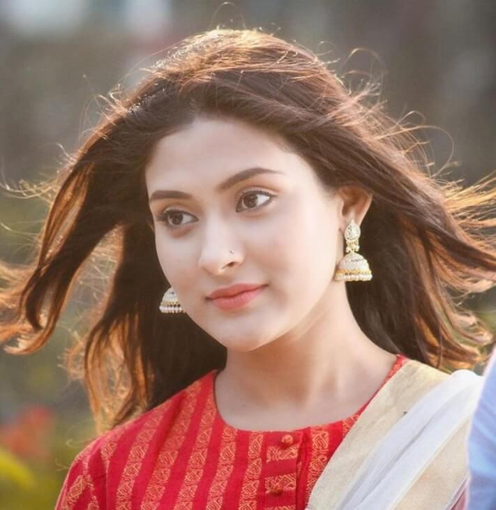 Mehazabien Chowdhury Salwar Kameez hot Image
