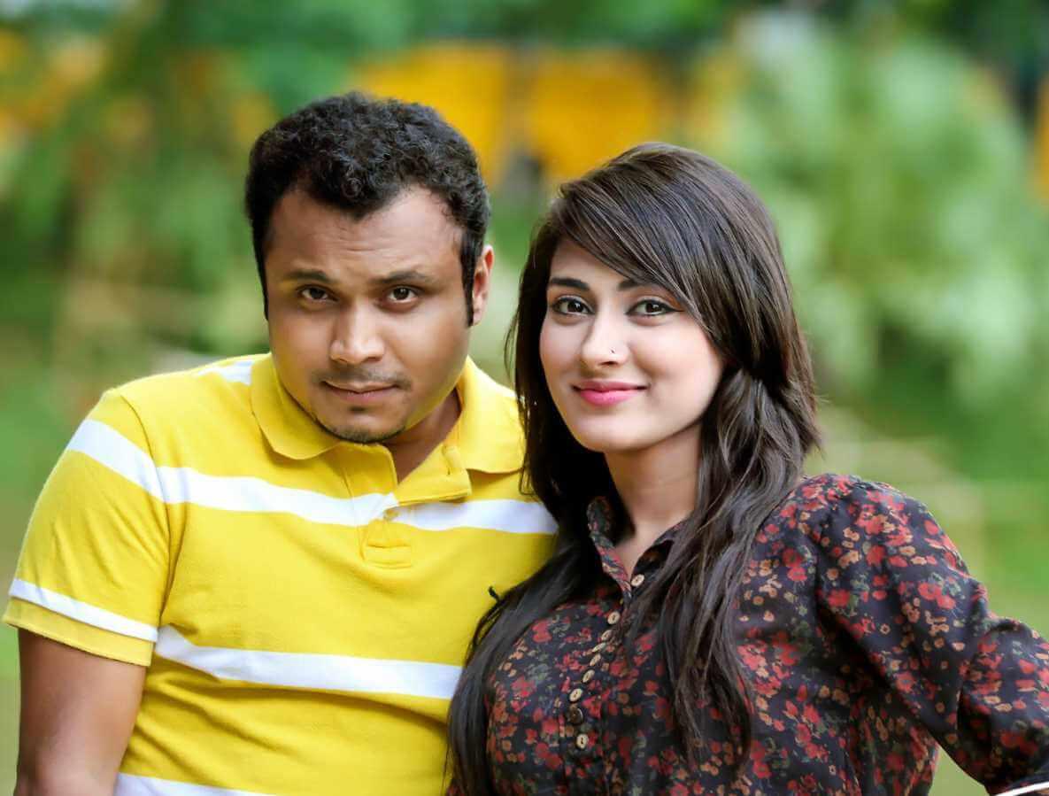Mehazabien Chowdhury With Mishu Sabbir Photo