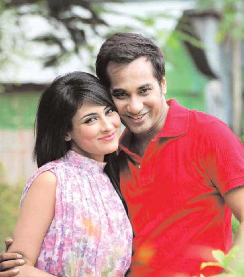 Mehazabien Chowdhury With Sojol Photo