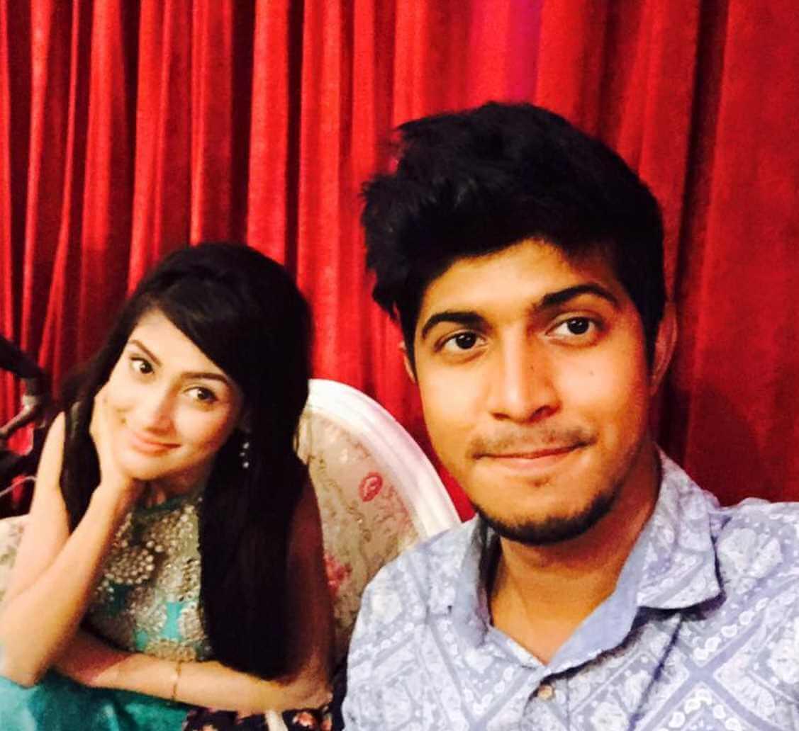 Mehazabien Chowdhury With Tawsif Mahbub Photo