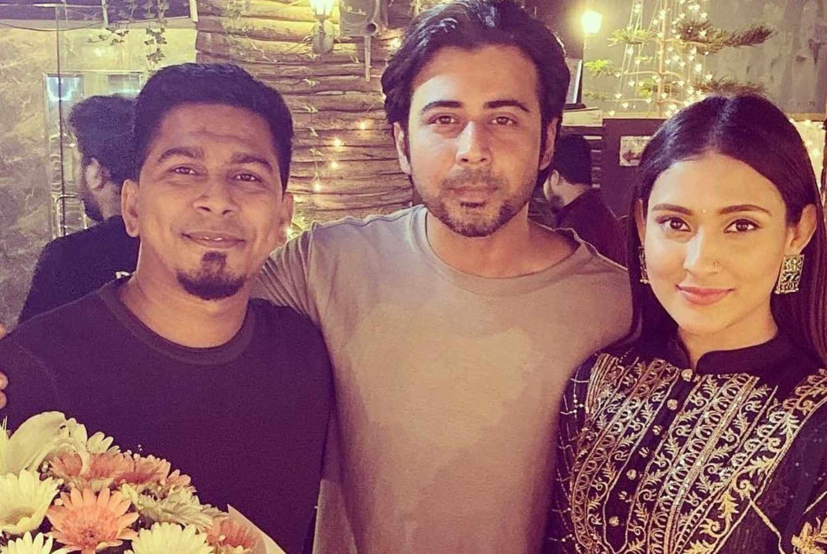 Mehazabien Chowdhury with Afran Nisho & Kajal Arefin Ome Photo