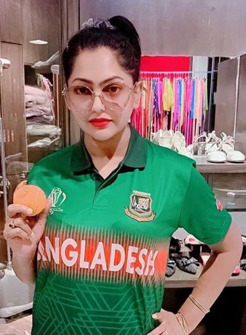 Nipun Akter Bangladeshi T-Shirt Photo