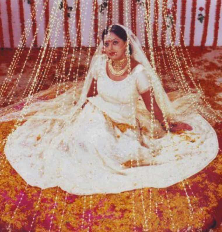 Shabnur Old Wedding Photo