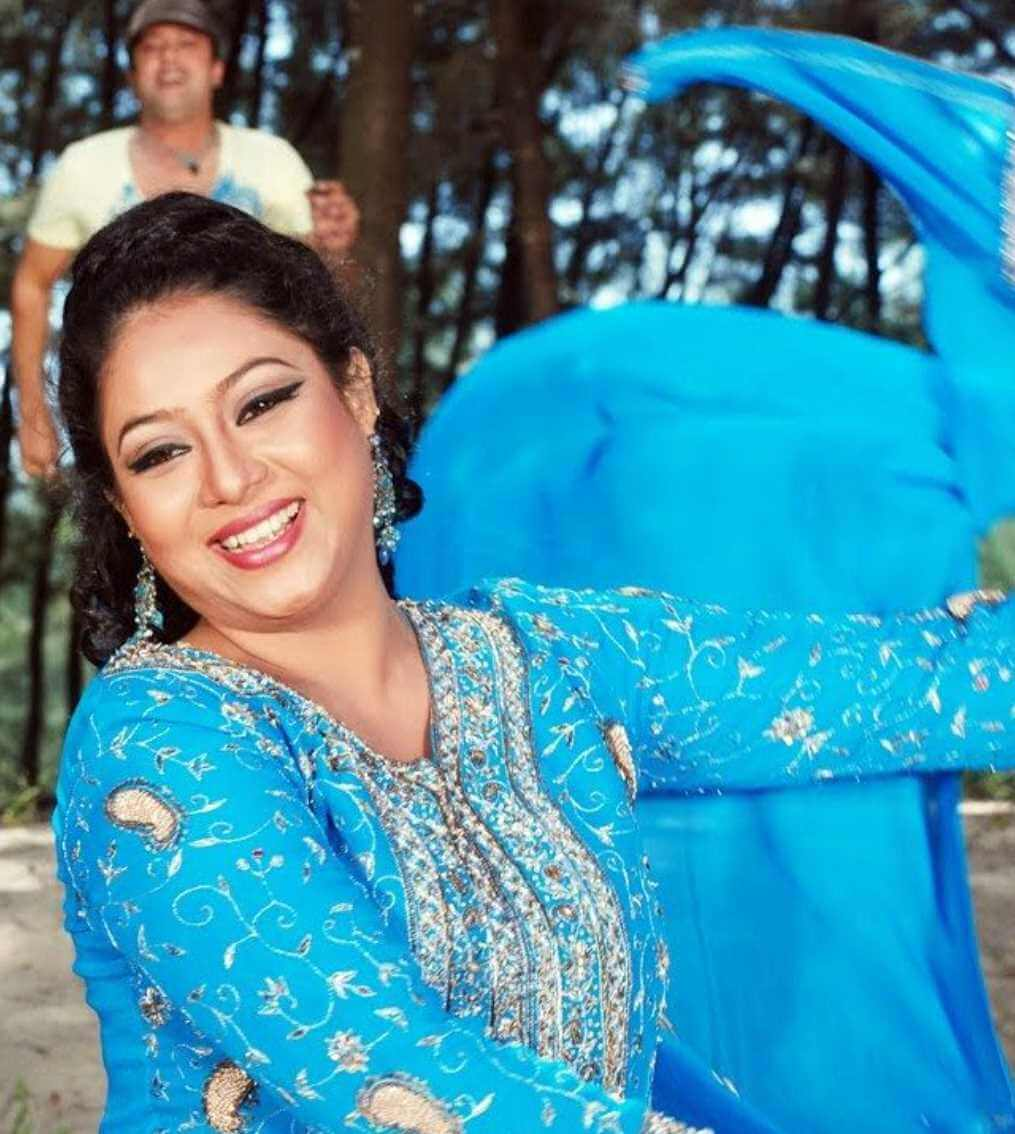Shabnur Salwar Kameez Style New Photo