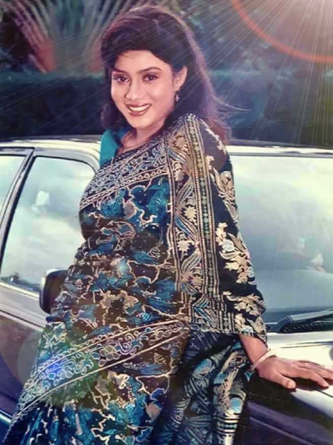 Shabnur Saree Photos