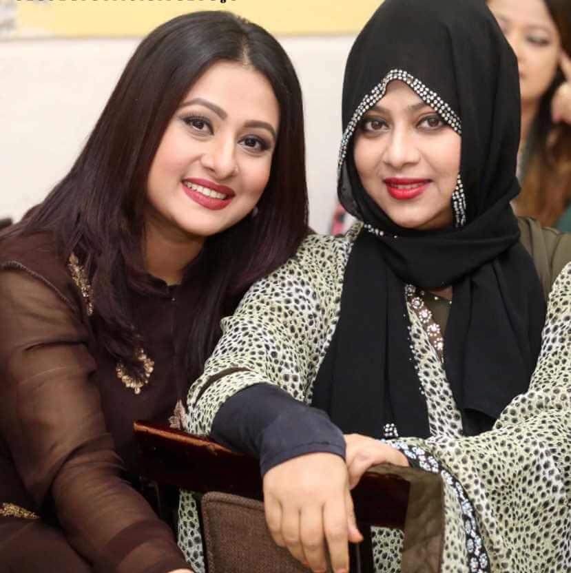 Shabnur with Purnima Photo