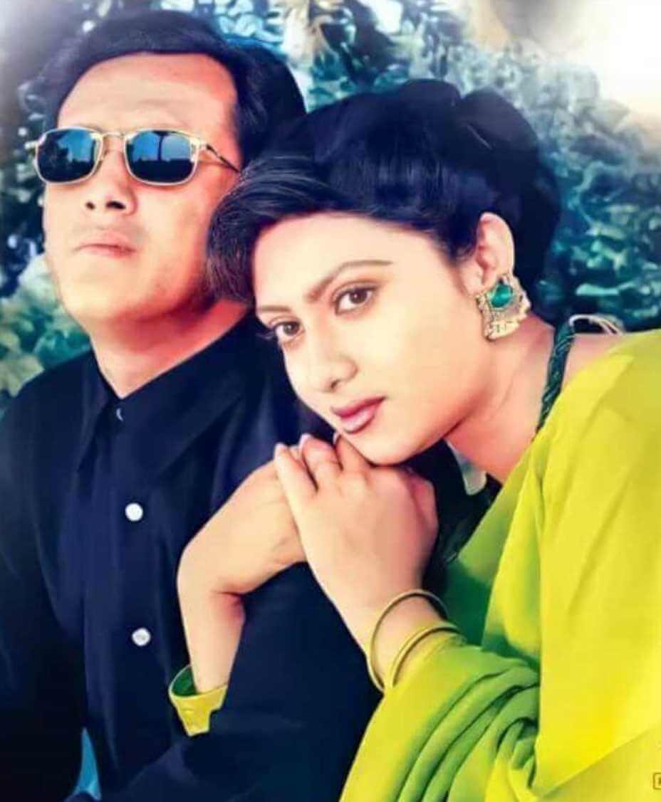 Shabnur with Salman Shah Photo