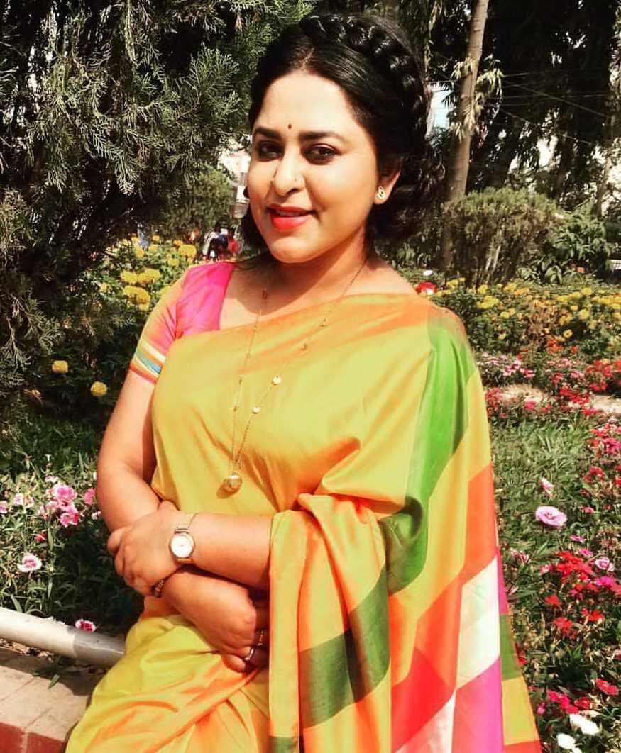 Jyotika Jyoti New Saree Photo