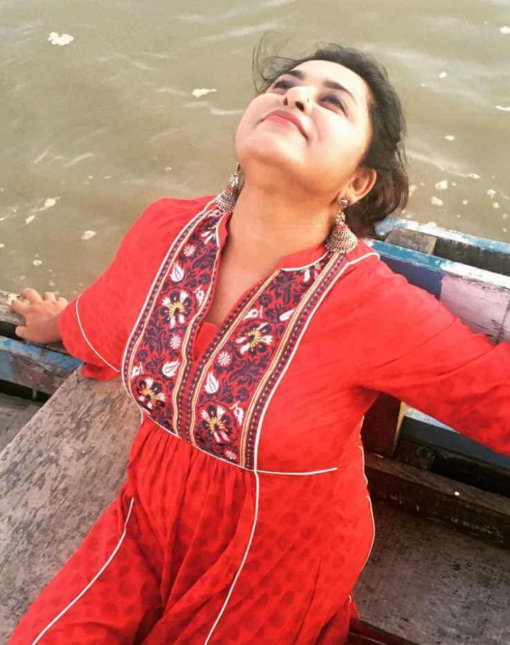 Jyotika Jyoti Red Dress Image