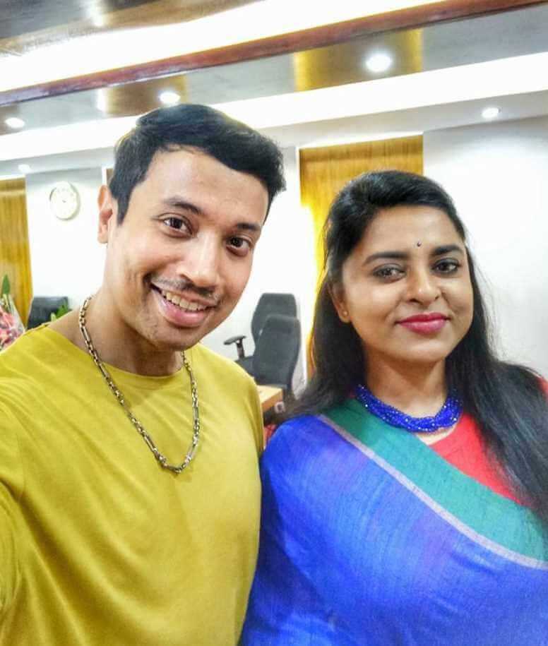 Jyotika Jyoti  with Aref Syed