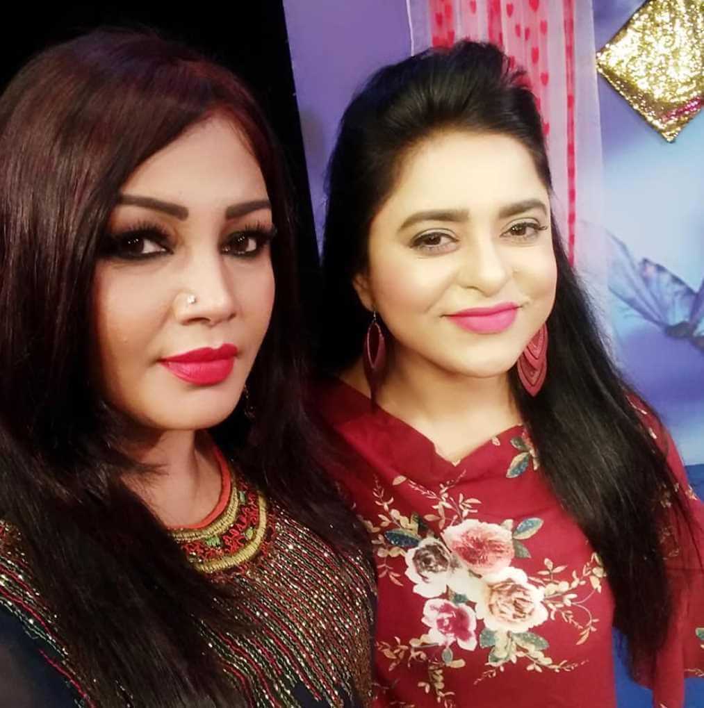 Jyotika Jyoti with Bulbul Tumpa Photo