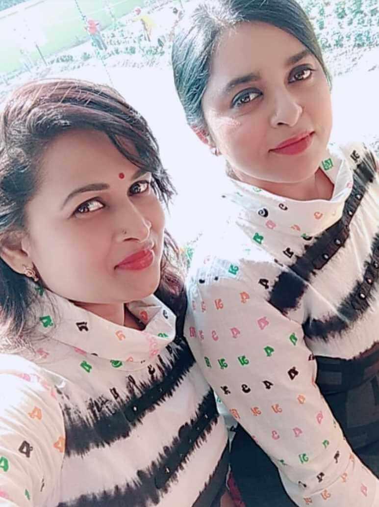 Jyotika Jyoti  with Co-Artist