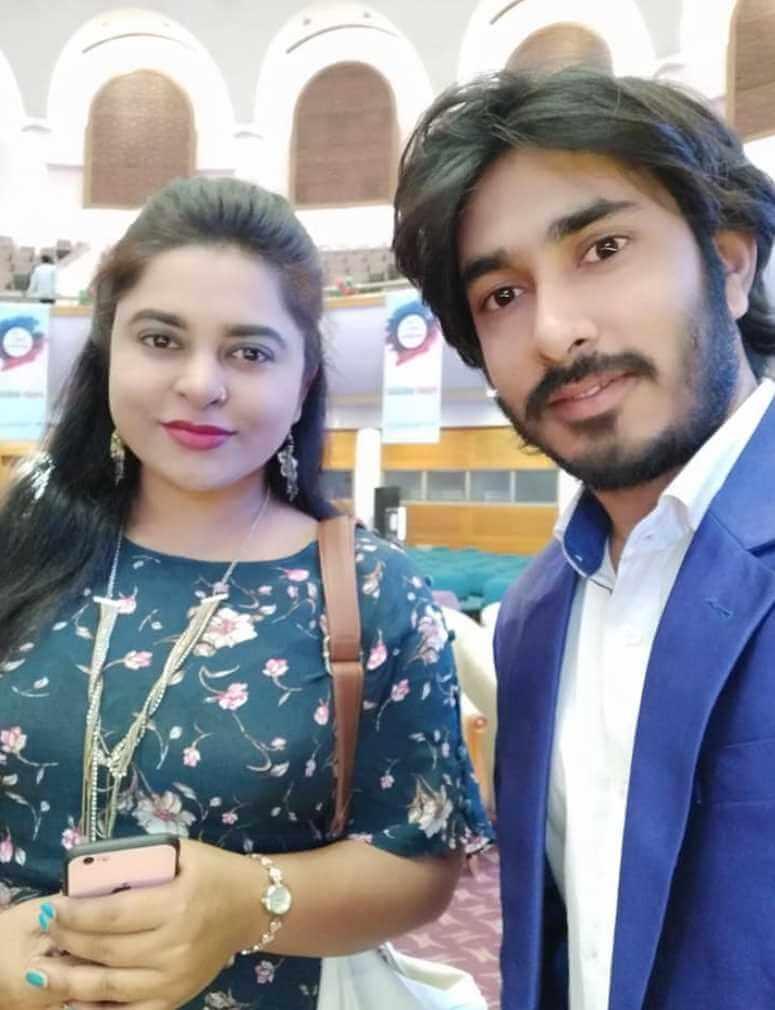 Jyotika Jyoti with Mehedi Raz