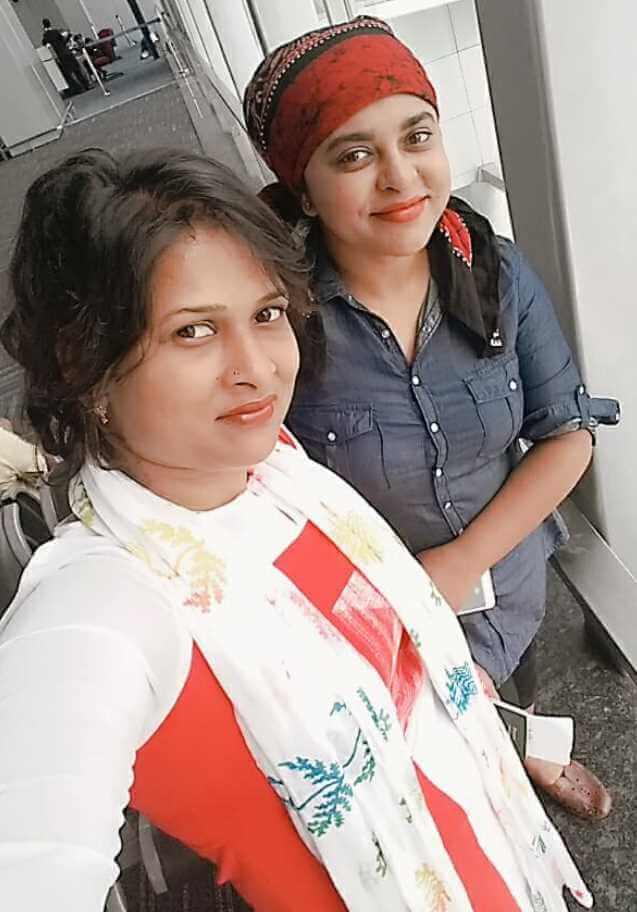 Jyotika Jyoti with Samapti Paul