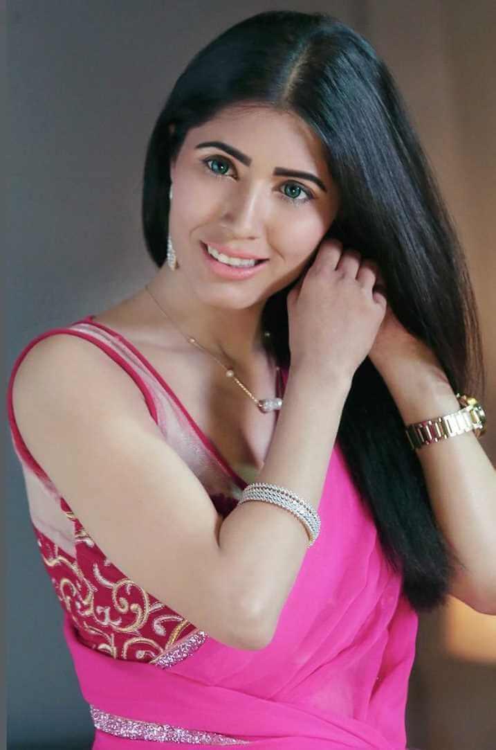 Naila Nayem Hot Saree Photo