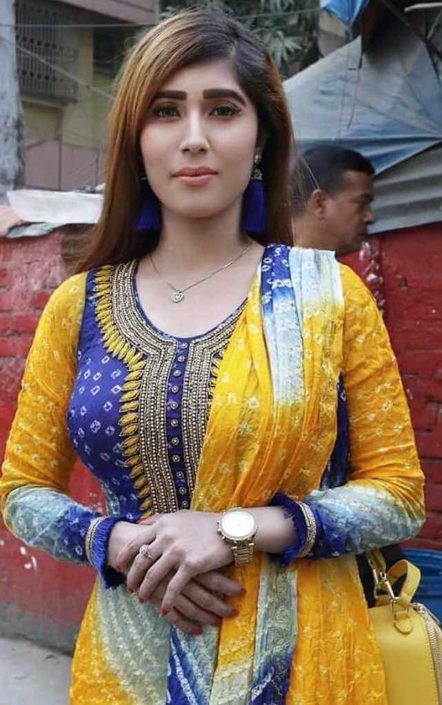 Naila Nayem New Salwar Kameez Photo