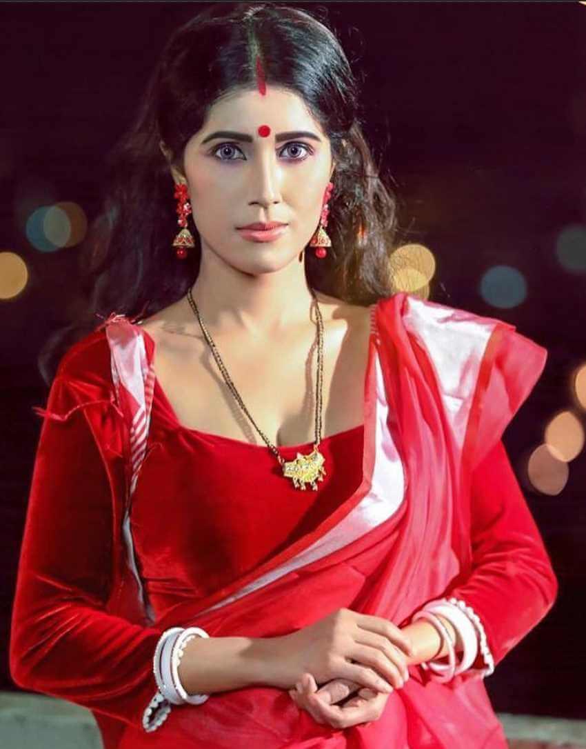 Naila Nayem Saree Photo