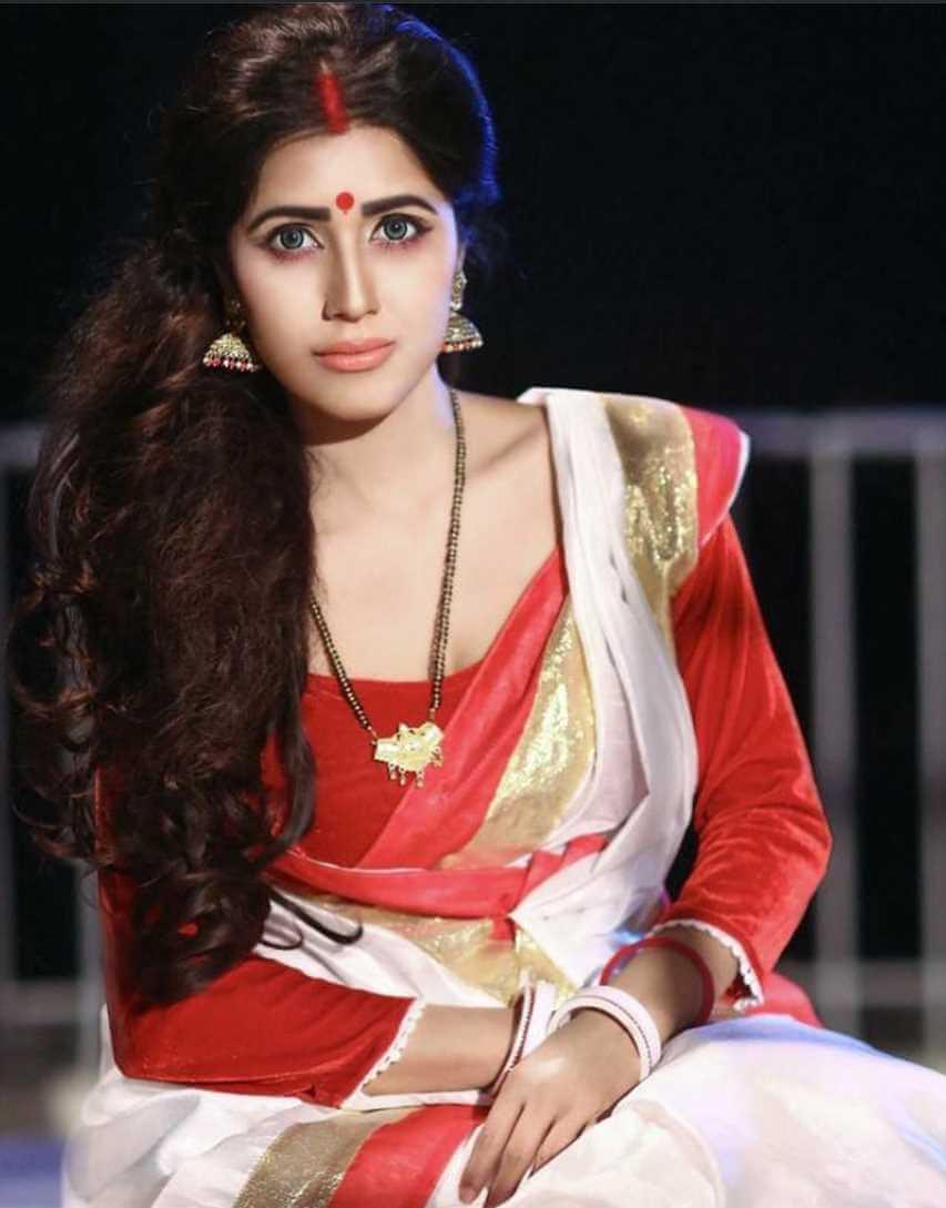 Naila Nayem Saree Photos