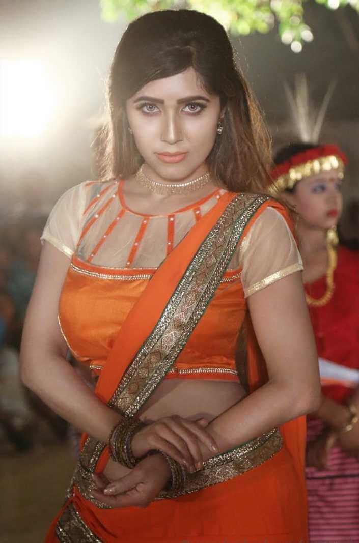 Naila Nayem Styles Saree Photo