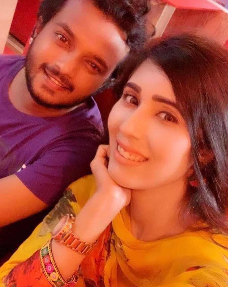 Naila Nayem with Allen Shuvro