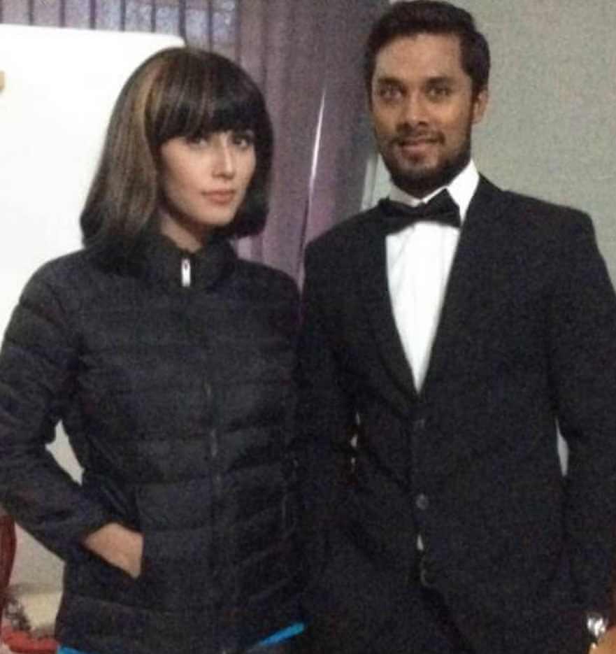 Naila Nayem with Sabbir Rahman