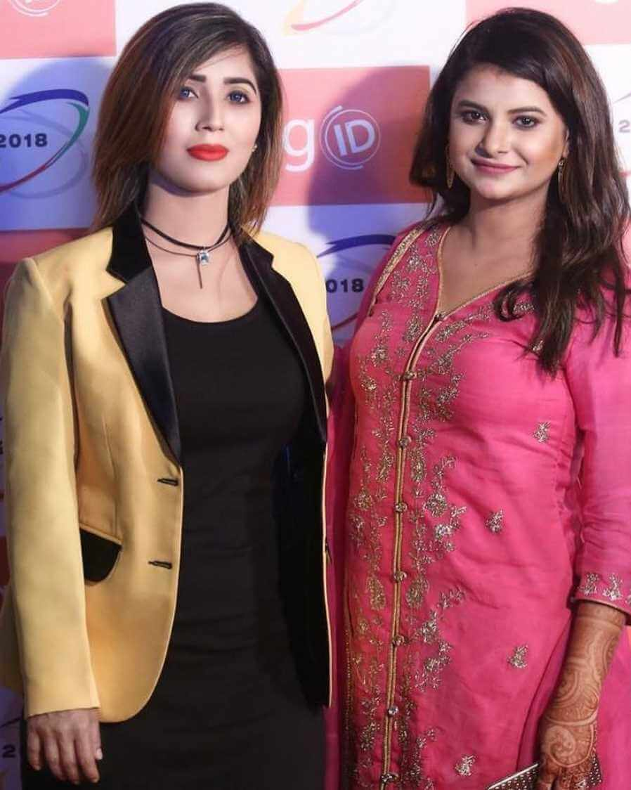 Naila Nayem with Sabnam Faria Picture