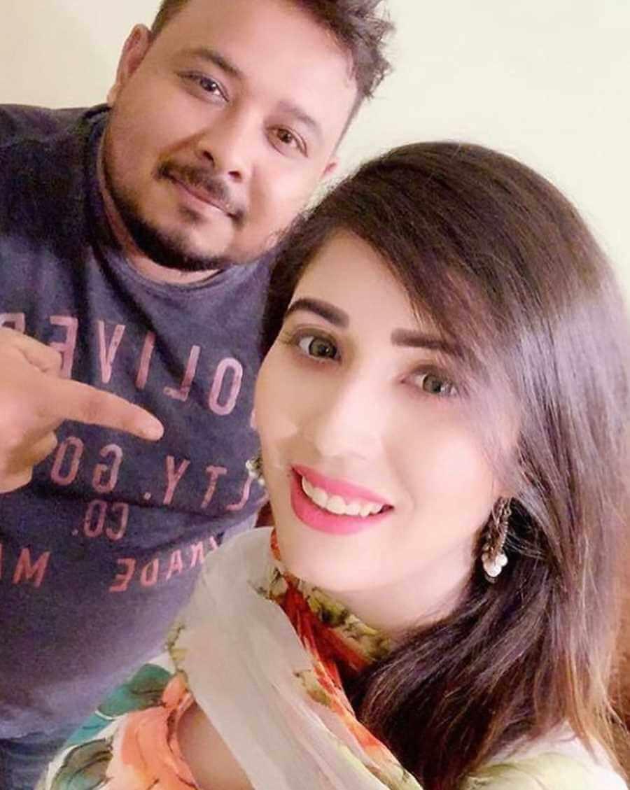 Naila Nayem with Sima Nasir Photo