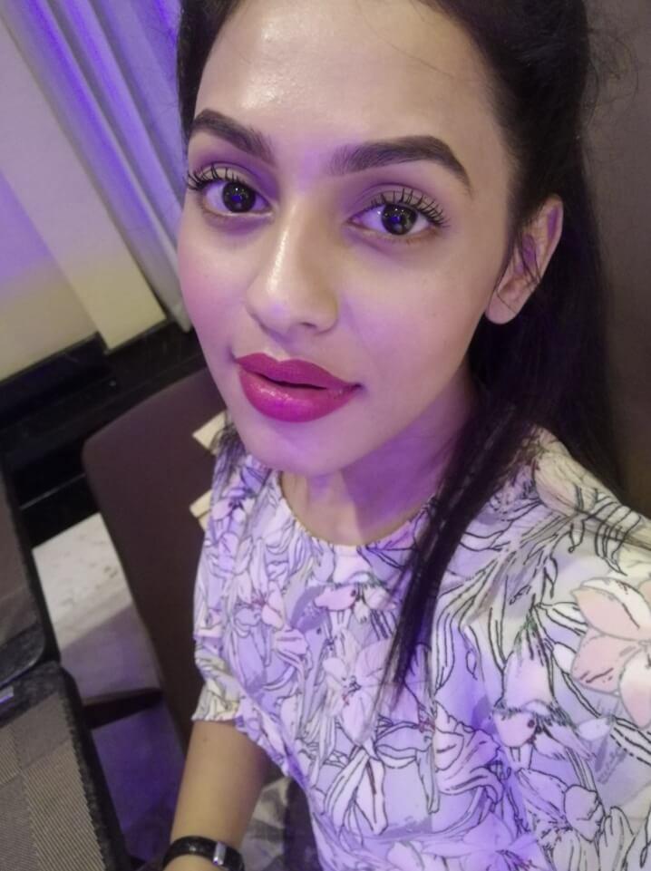 Nusrat Faria Mazhar selfie picture