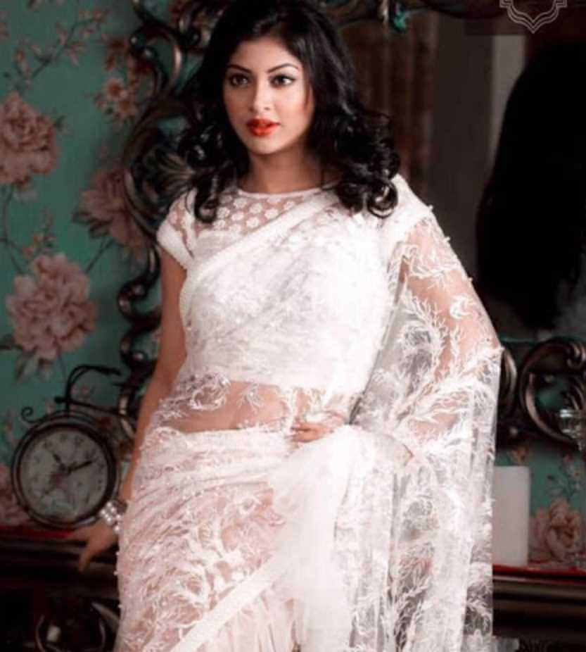 Sarika Sabrin Saree Photo 2