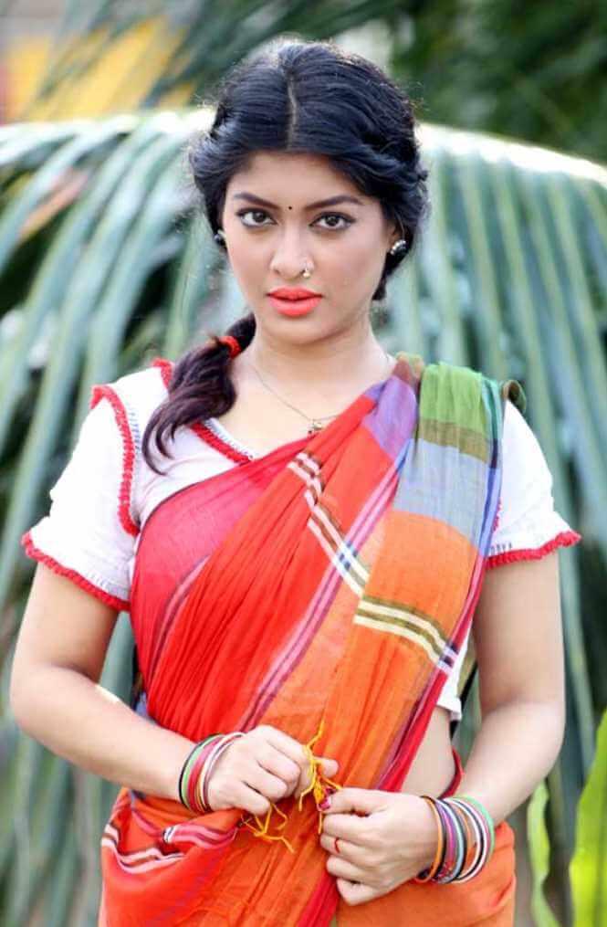 Sarika Sabrin Saree Photo 4
