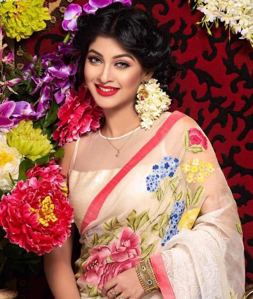 Sarika Sabrin Saree Photo