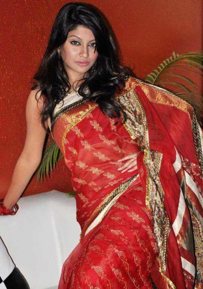 Sarika Sabrin Saree Picture 2