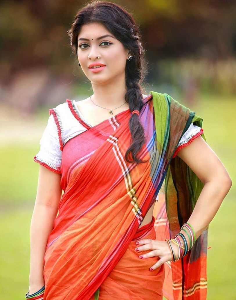 Sarika Sabrin Saree Wallpaper