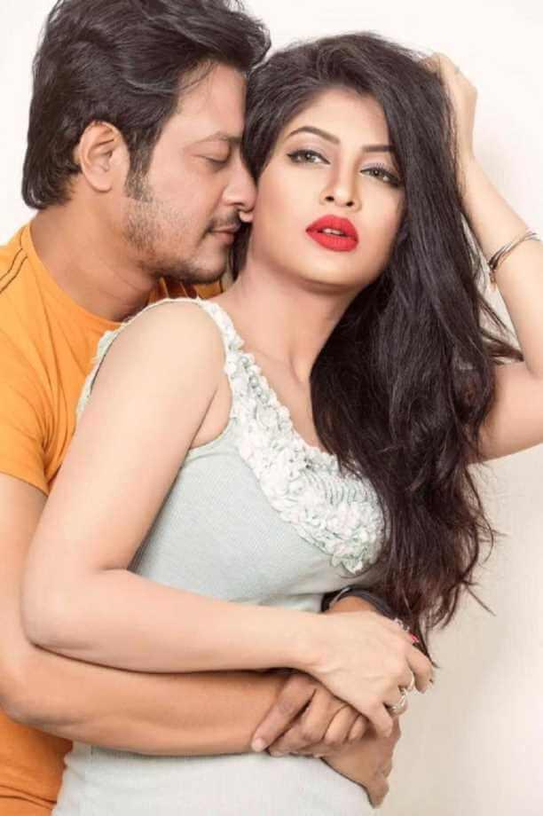 Sarika Sabrin with Nirob Image