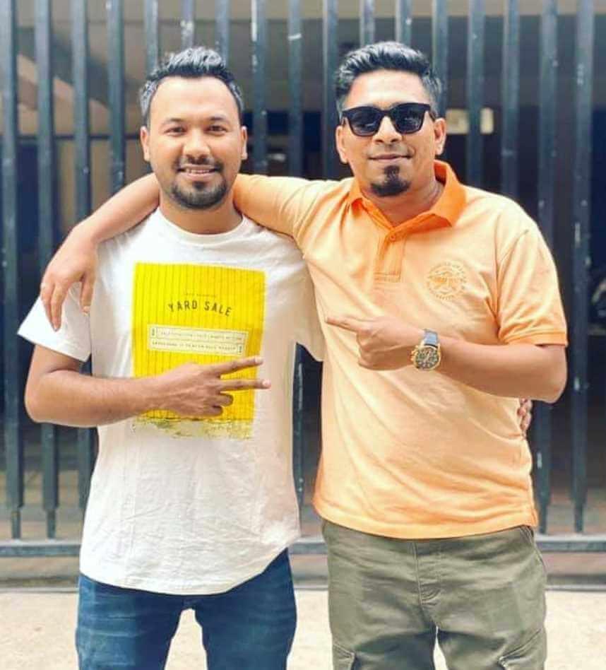 Ziaul Hoque Polash with Kajal Arefin Ome Photo