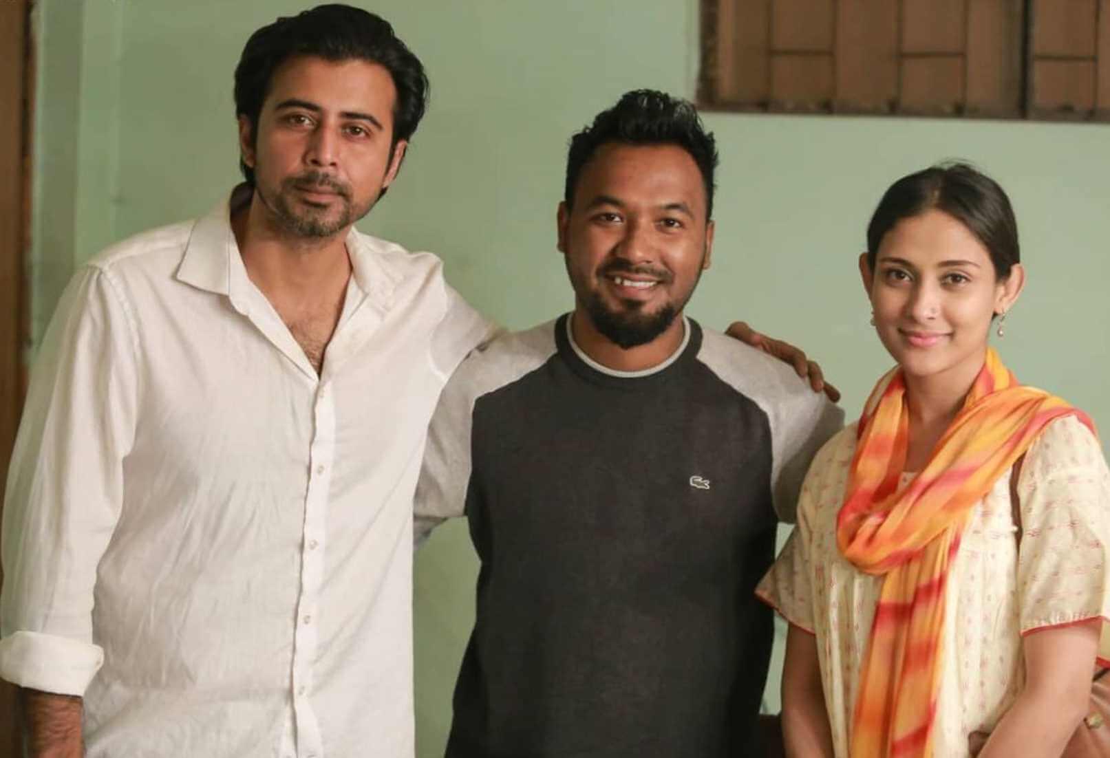 Ziaul Hoque Polash with Mehazabien & Afran Nisho