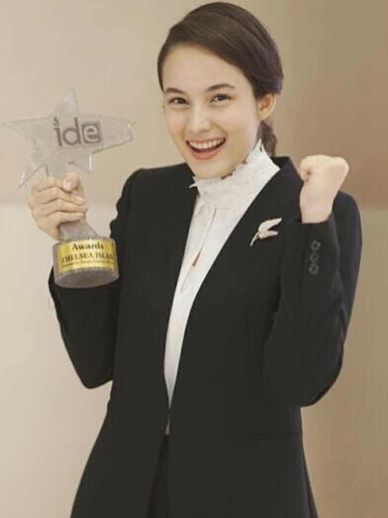 Chelsea Islan Award pic