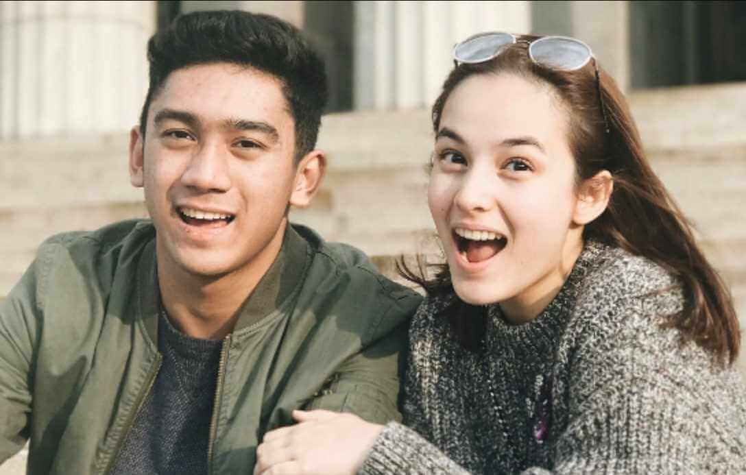 Chelsea Islan with her brother