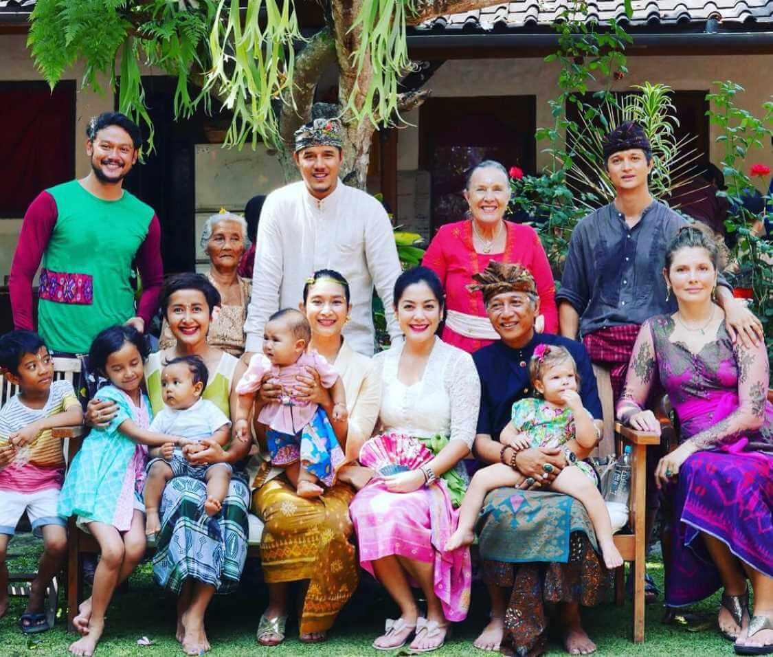 Happy Salma Family Photos