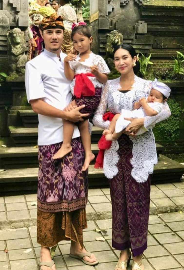 Happy Salma Family Picture