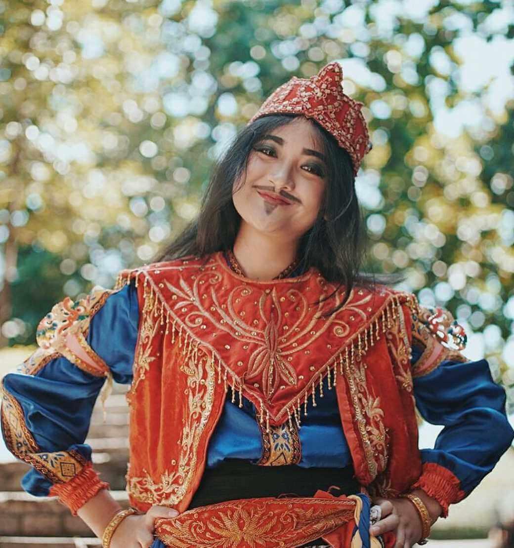 Happy Salma Funny Pic