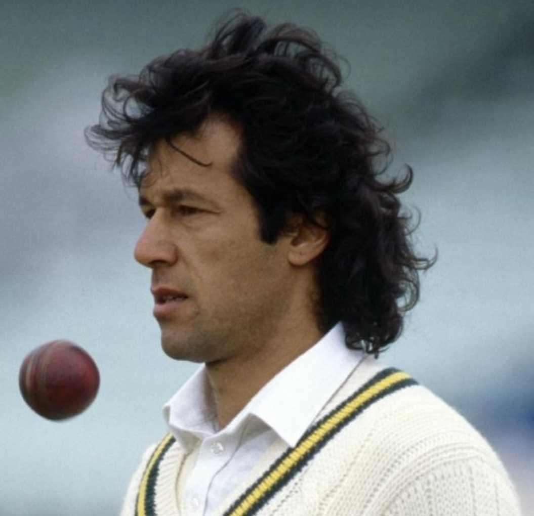 Imran khan Cricket Photo