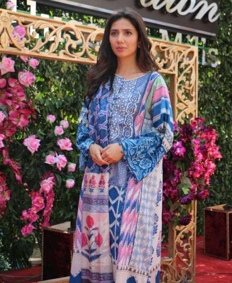 Mahira Khan Salwar Kameez Photo 3