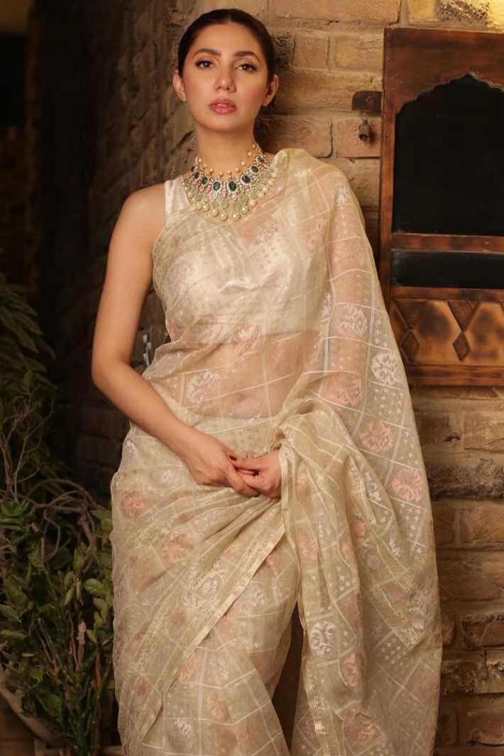 Mahira Khan Saree Image 2