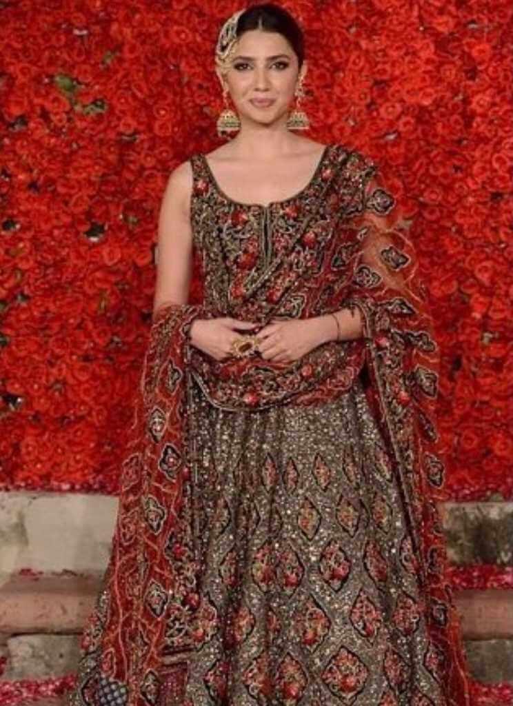 Mahira Khan Wedding Image